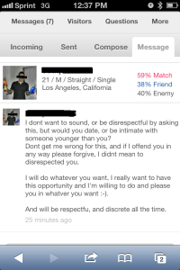 POF Begging